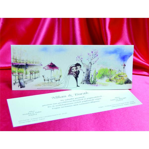 Hochzeitskarte 3369